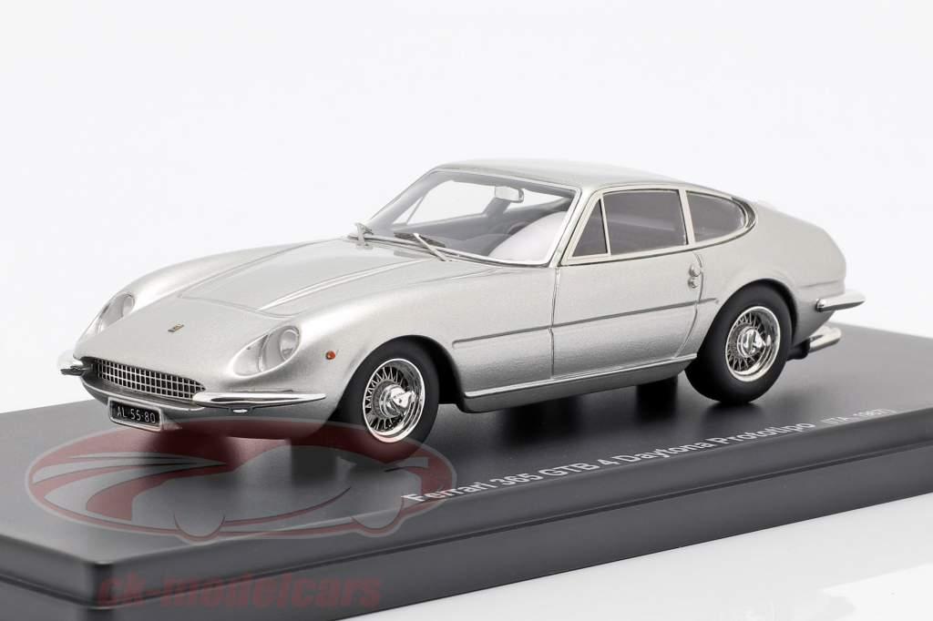 Ferrari 365 GTB 4 Daytona Prototipo año de construcción 1967 plata 1:43 AutoCult