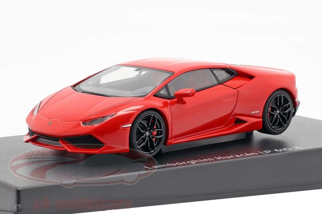 Lamborghini Huracan LP610-4 année 2014 rouge 1:43 AUTOart