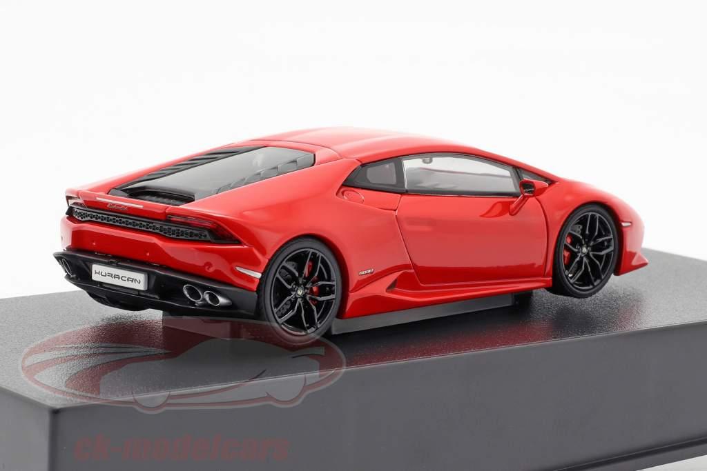 Lamborghini Huracan LP610-4 jaar 2014 rood 1:43 AUTOart