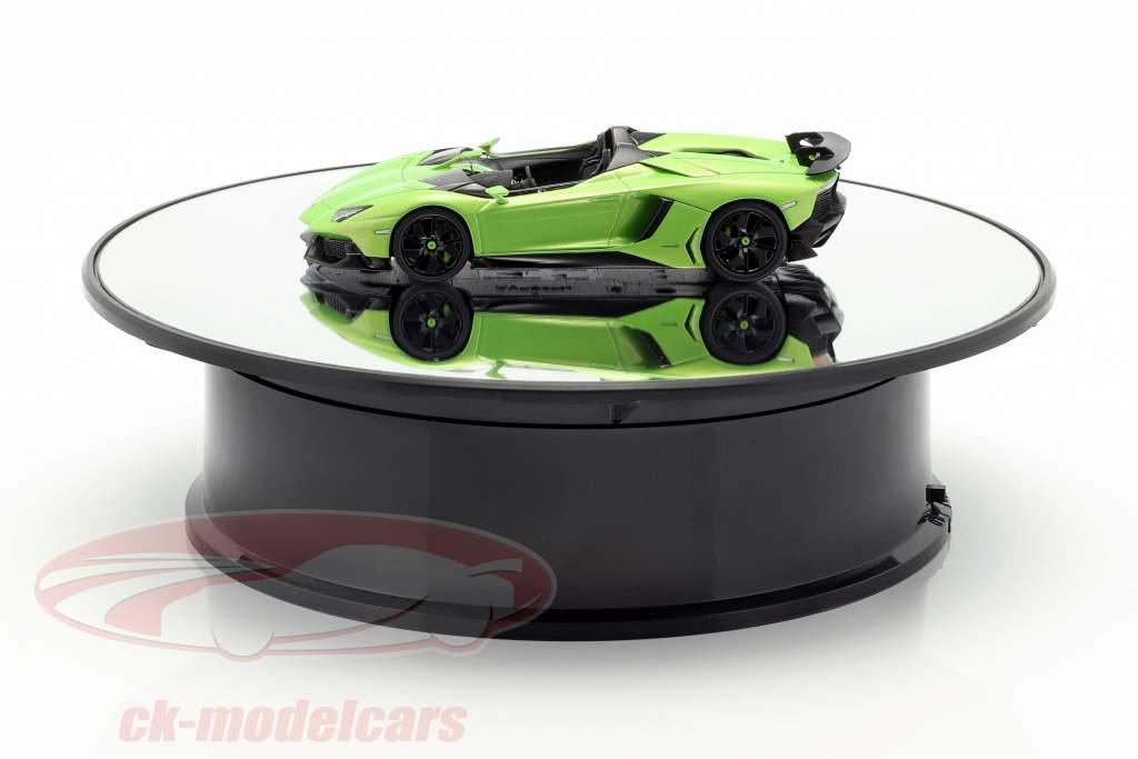 tourne-disque miroir diamètre 20 cm pour voitures de modèle en échelle 1:24 AUTOart