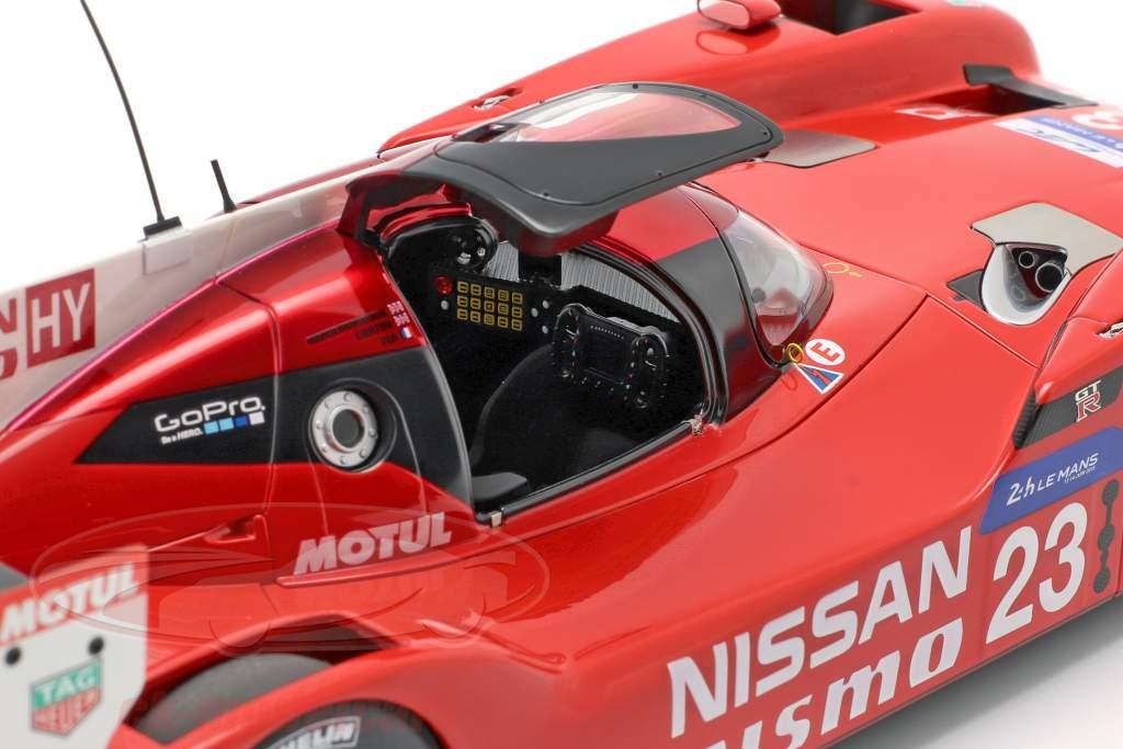Nissan GT-R LM Nismo #23 24h LeMans 2015 Chilton, Mardenborough, Pla 1:18 AUTOart
