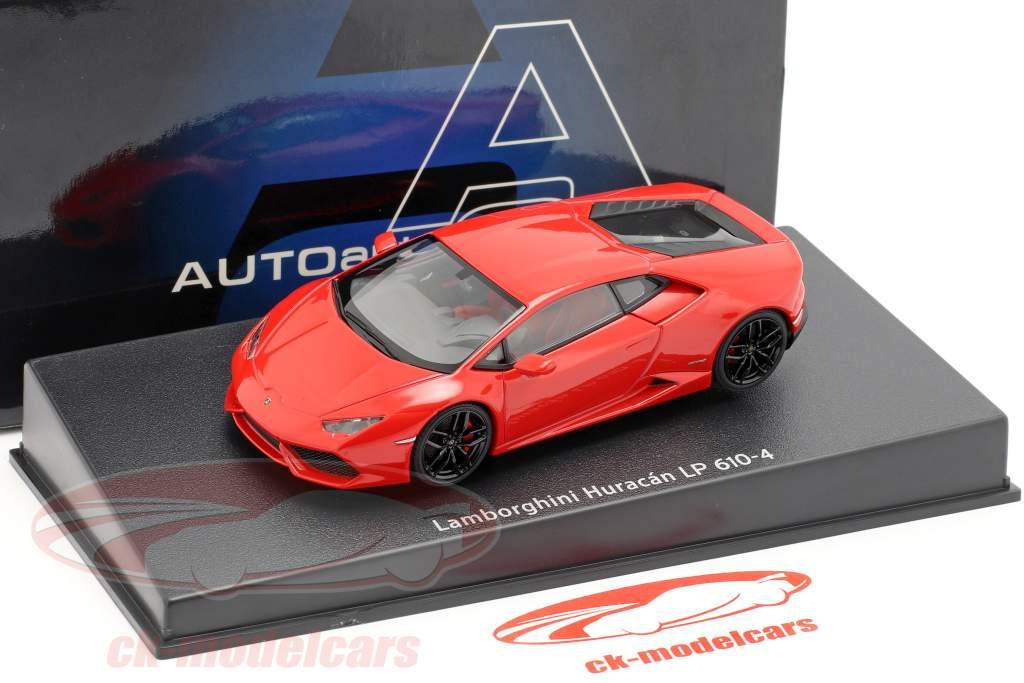 Lamborghini Huracan LP610-4 año 2014 rojo 1:43 AUTOart