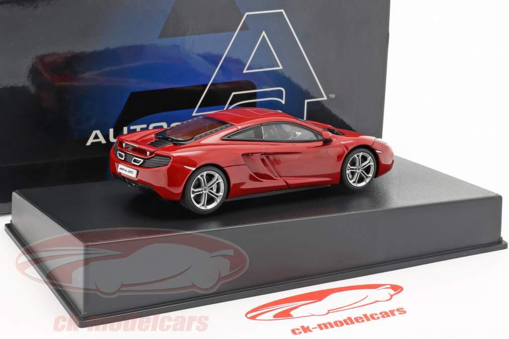 McLaren MP4-12C Year 2011 red metallic 1:43 AUTOart