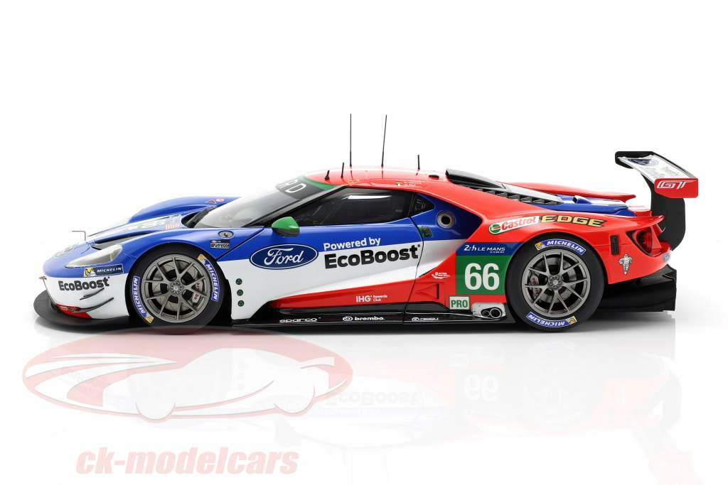 Ford GT #66 24h LeMans 2016 Pla, Mücke, Johnson 1:18 AUTOart