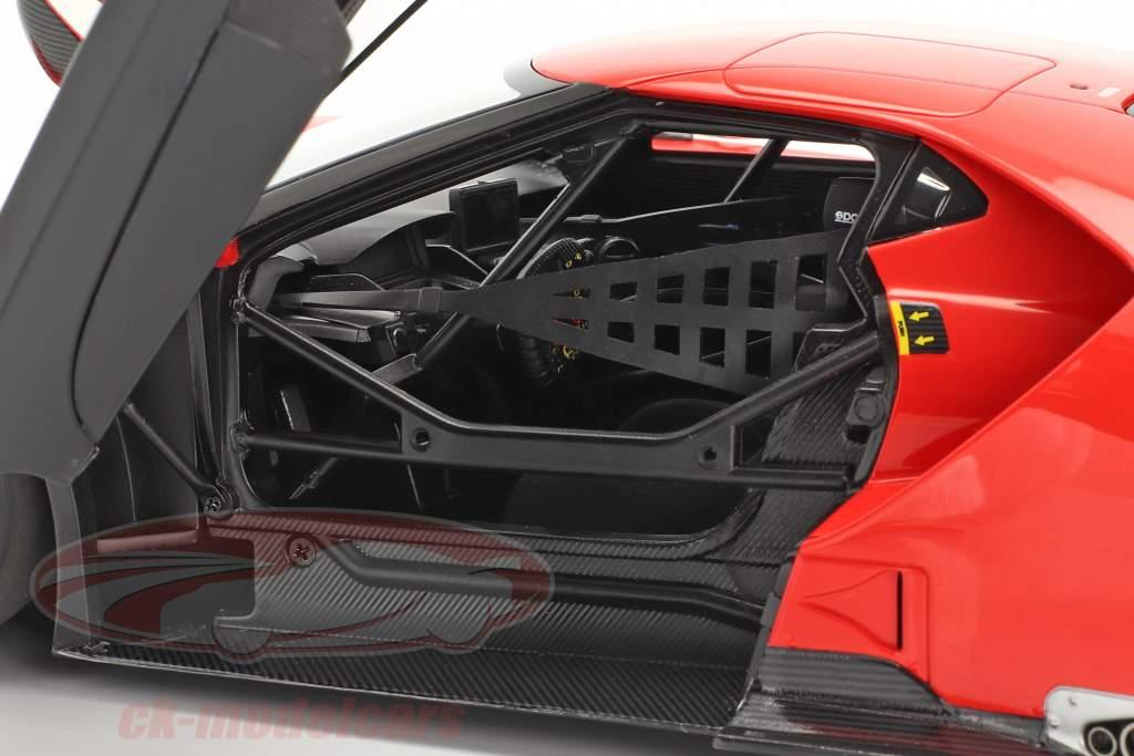 Ford GT LeMans Plain Body Version rood 1:18 AUTOart