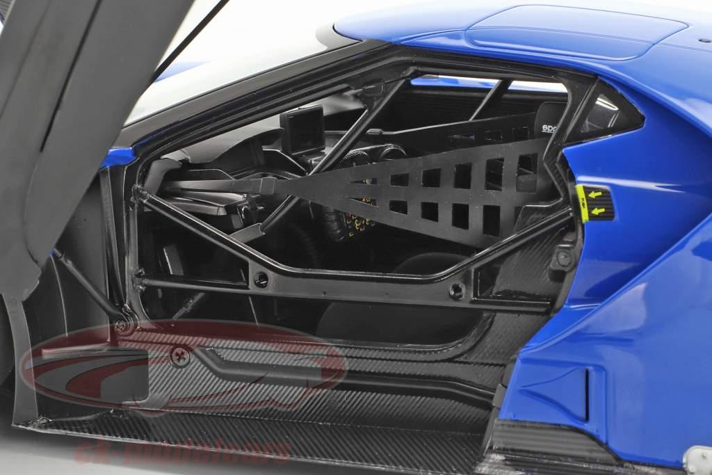 Ford GT LeMans Plain Body Version blau 1:18 AUTOart