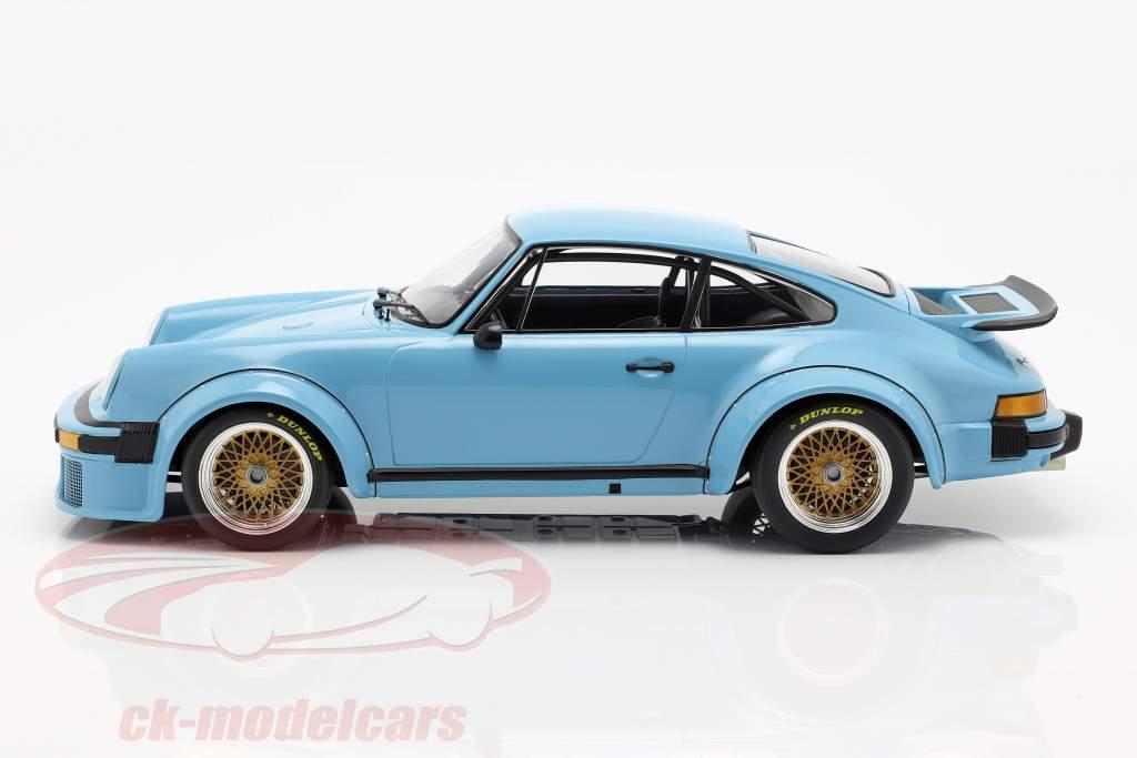 Porsche 934 año de construcción 1976 azul 1:12 Minichamps