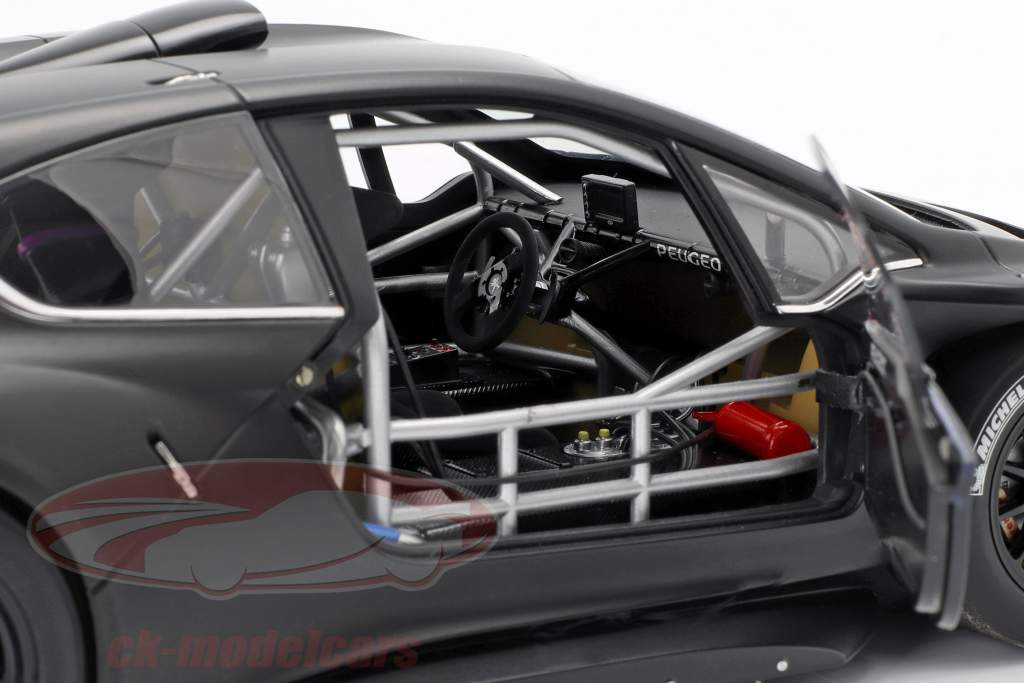 Peugeot 208 T16 Pikes Peak Plain Body Version 2013 negro 1:18 AUTOart