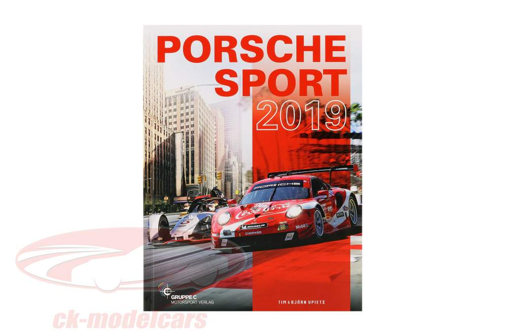 réserver: Porsche Sport 2019 par Tim Upietz (Gruppe C Motorsport Verlag)