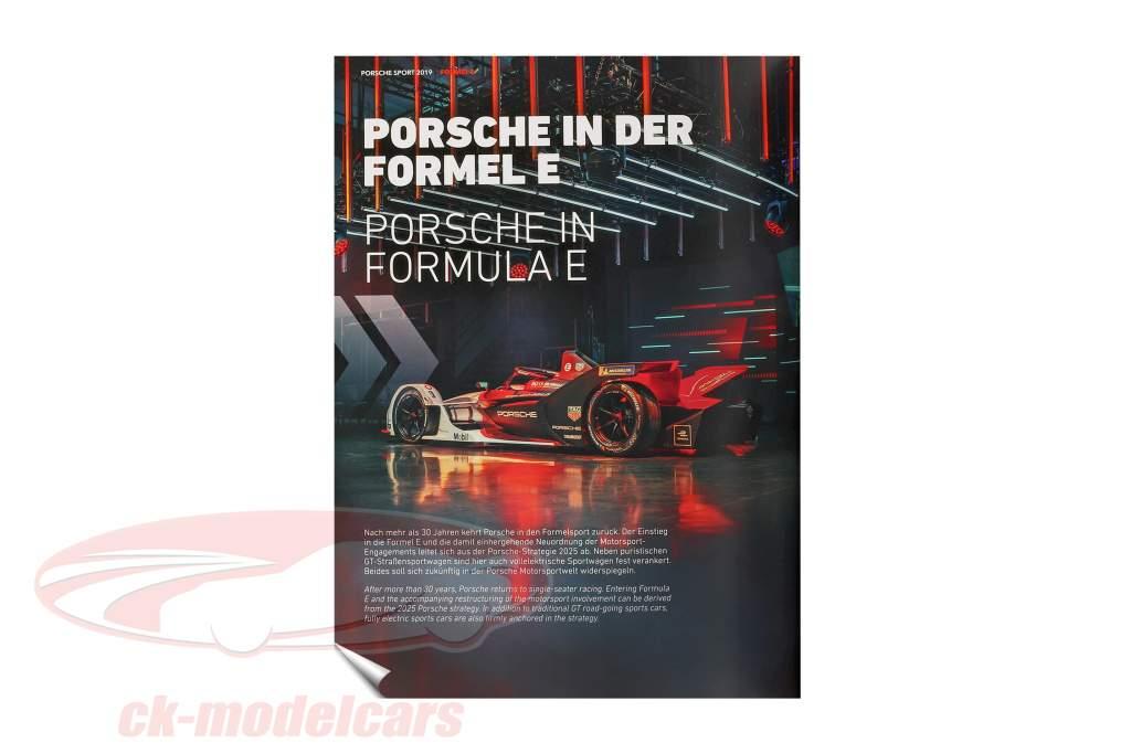 livro: Porsche Sport 2019 por Tim Upietz (Gruppe C Motorsport Verlag)