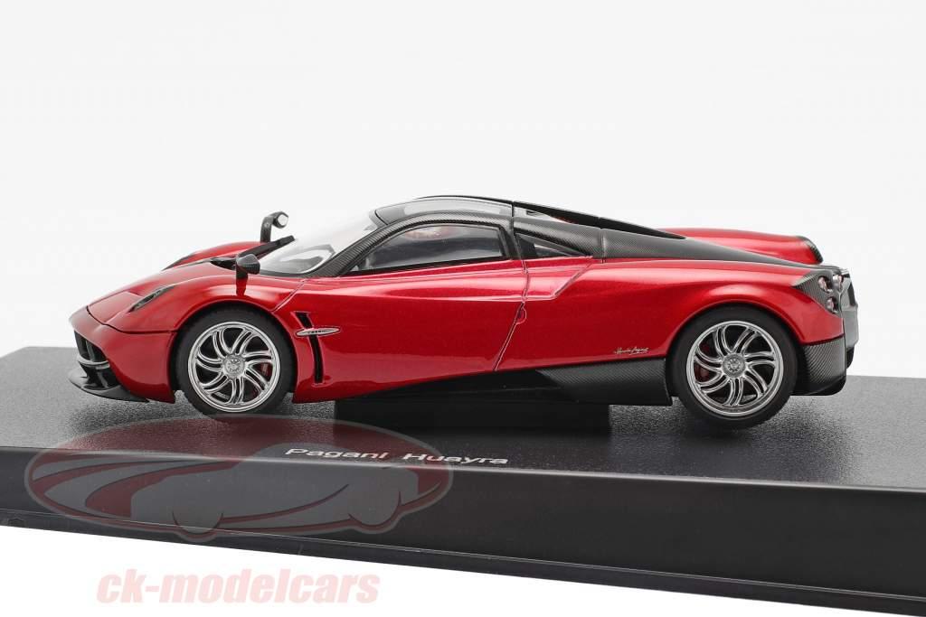 Pagani Huayra año 2011 rojo metálico 1:43 AUTOart