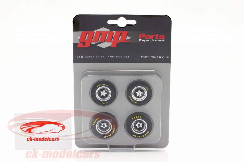 Rims and tire Set For Ford Fairlane (GMP18910) 1:18 GMP