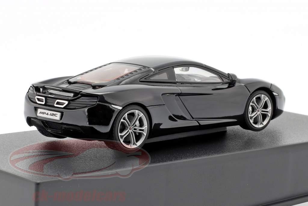 McLaren MP4-12C Anno 2011 nero metallico 1:43 AUTOart