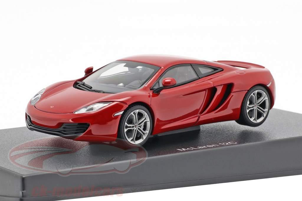 McLaren MP4-12C Année 2011 rouge métallique 1:43 AUTOart