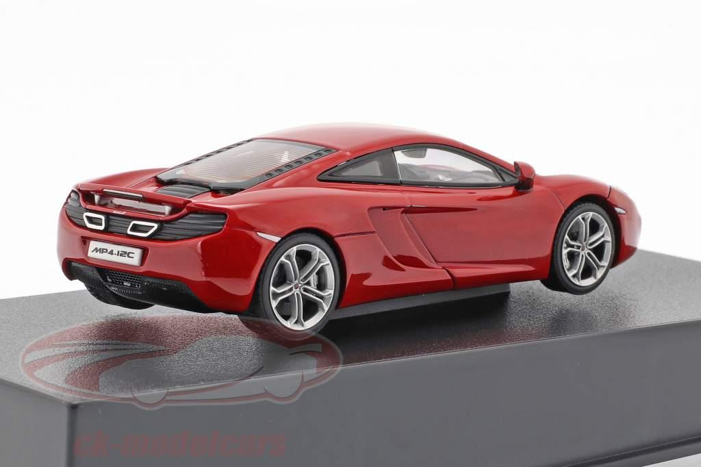 McLaren MP4-12C Baujahr 2011 rot metallic 1:43 AUTOart