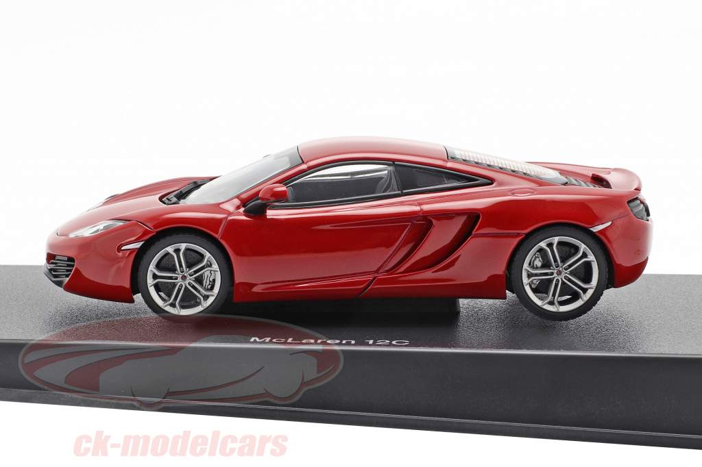 McLaren MP4-12C Jaar 2011 rood metalen 1:43 AUTOart