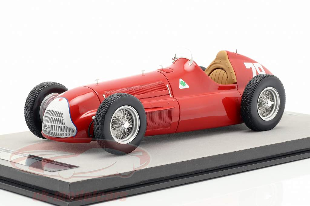 Paul Pietsch Alfa Romeo 159 #78 Alemania GP fórmula 1 1951 1:18 Tecnomodel