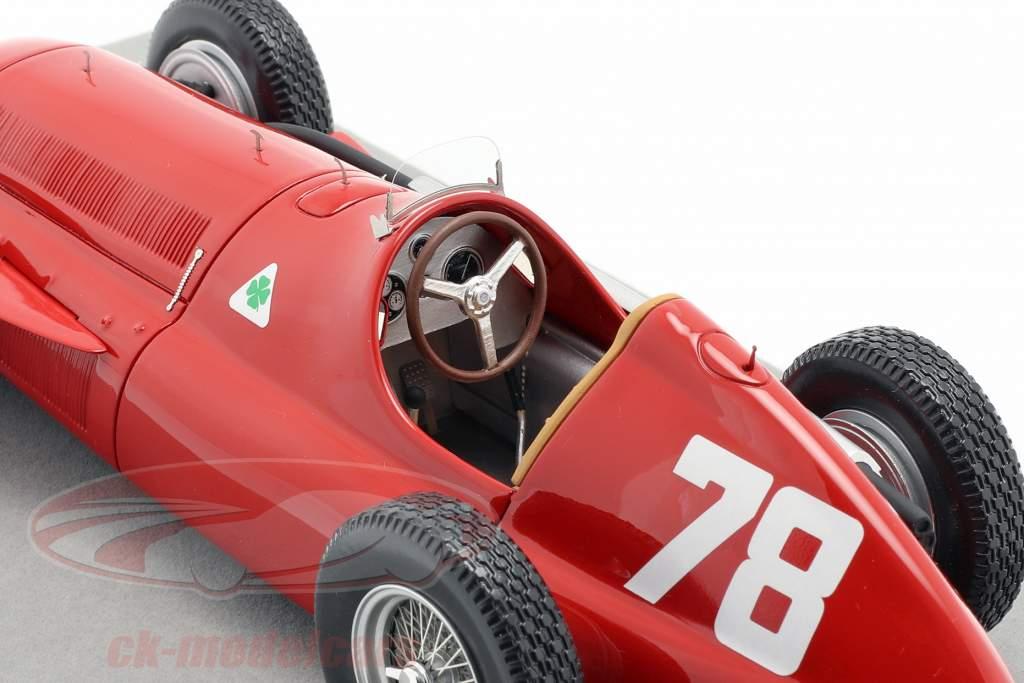 Paul Pietsch Alfa Romeo 159 #78 Tyskland GP formel 1 1951 1:18 Tecnomodel