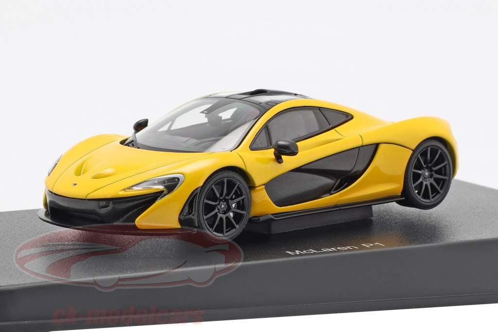 McLaren P1 Year 2013 volcano yellow 1:43 AUTOart