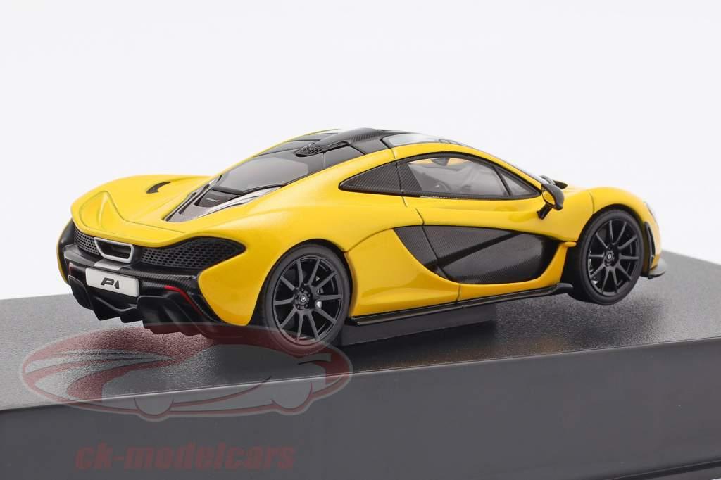 McLaren P1 Baujahr 2013 volcano gelb 1:43 AUTOart