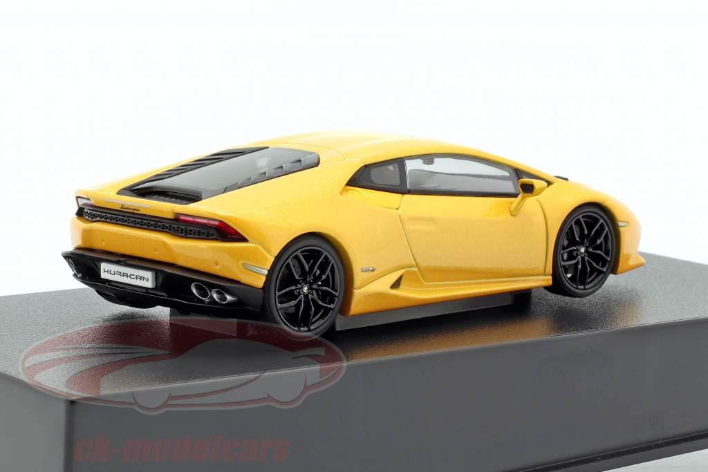 Lamborghini Huracan LP 610-4 Opførselsår 2014 gul metallisk 1:43 AUTOart