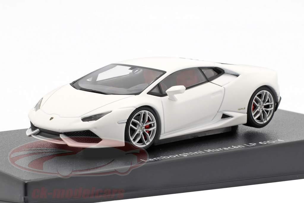 Lamborghini Huracan LP610-4 Año 2014 estera blanco 1:43 AUTOart