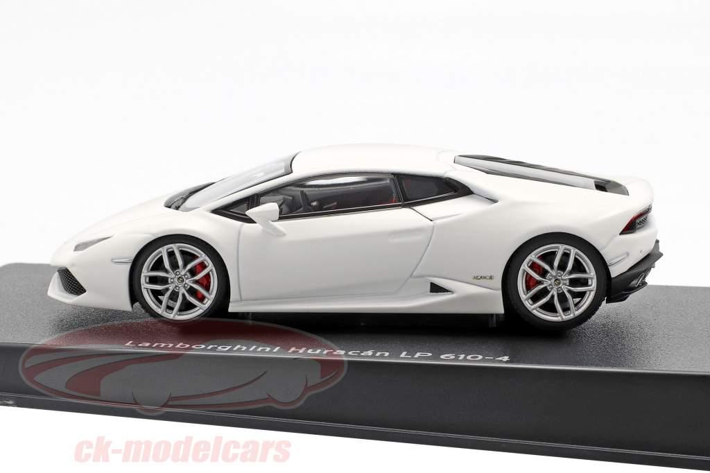 Lamborghini Huracan LP610-4 Jaar 2014 mat wit 1:43 AUTOart