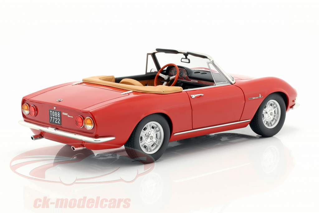 Fiat Dino Spyder year 1966 red 1:18 Cult Scale