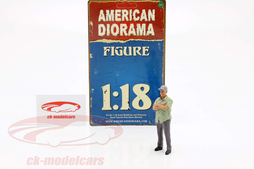figura 2 Weekend Car Show 1:18 American Diorama