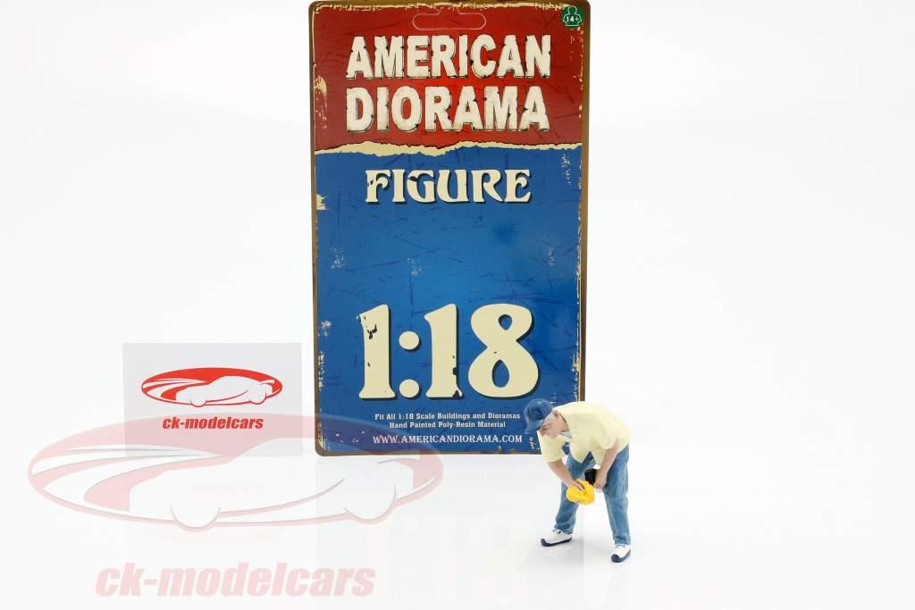 cifra 6 Weekend Car Show 1:18 American Diorama