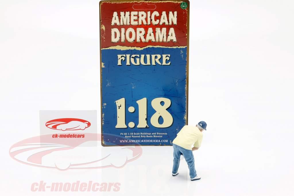 figuur 6 Weekend Car Show 1:18 American Diorama