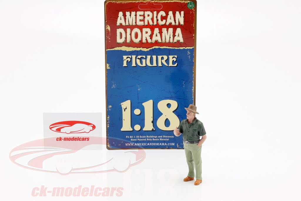 figura 8 Weekend Car Show 1:18 American Diorama