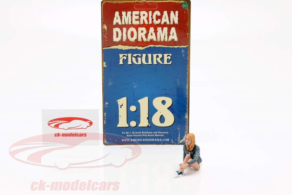 figura B Seated Couple III 1:18 American Diorama