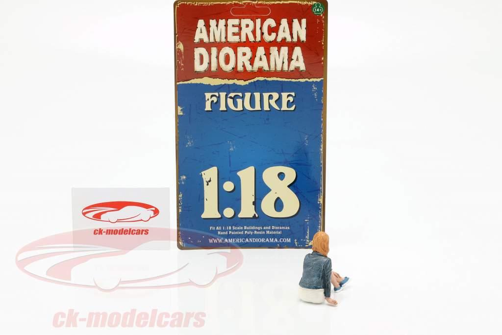Figur B Seated Couple III 1:18 American Diorama