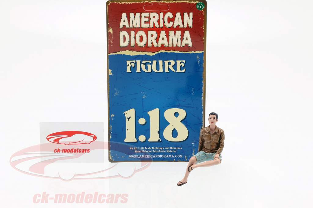 figure A Seated Couple III 1:18 American Diorama