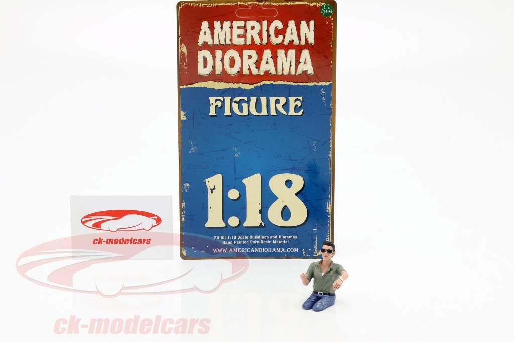 figura A Seated Couple IV 1:18 American Diorama