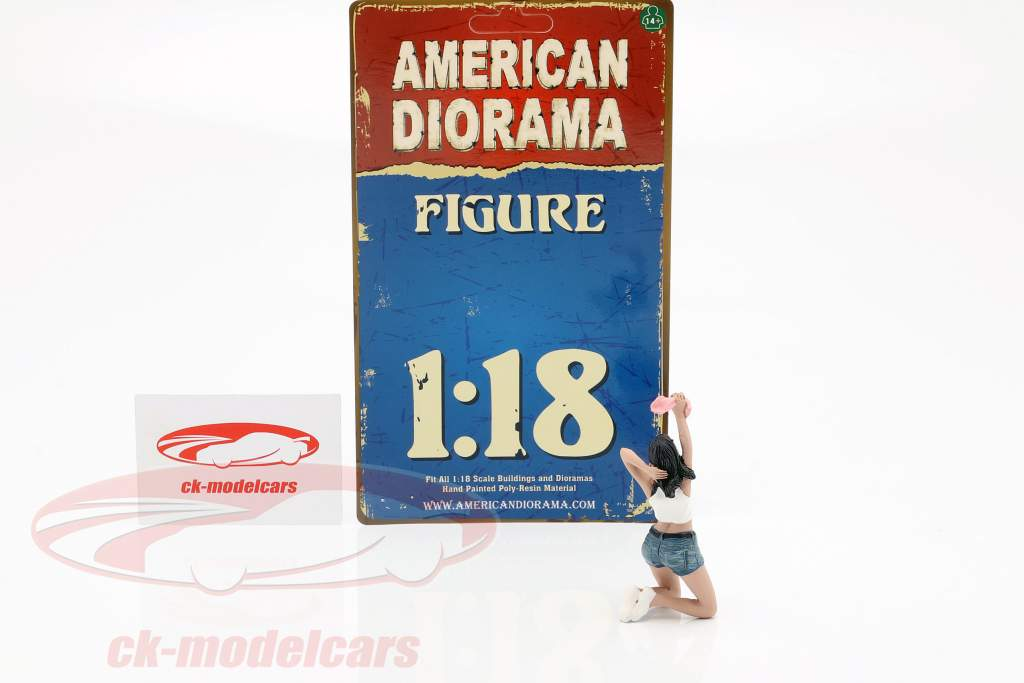 Figur B Seated Couple IV 1:18 American Diorama