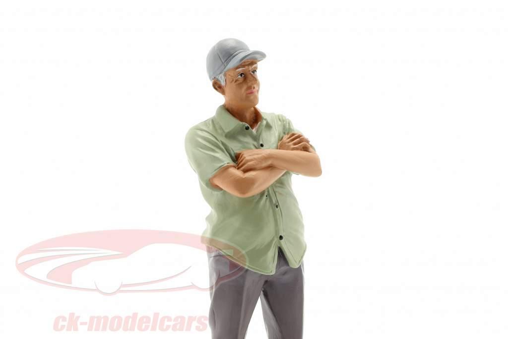 figure 2 Weekend Car Show 1:18 American Diorama