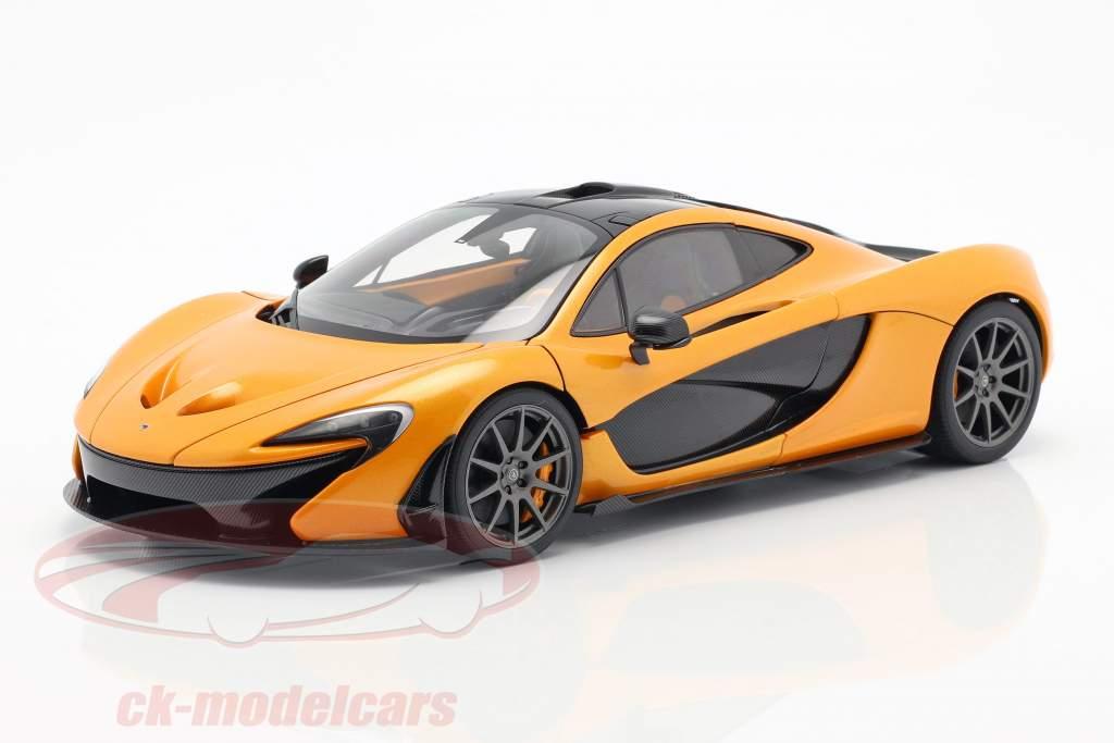 McLaren P1 Opførselsår 2013 papaya spark 1:18 AUTOart