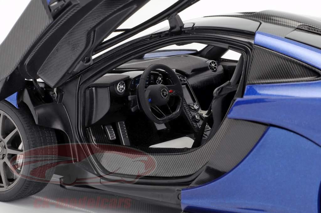 McLaren P1 year 2013 azure blue 1:18 AUTOart