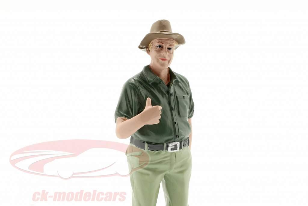 figuur 8 Weekend Car Show 1:18 American Diorama