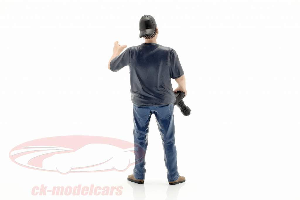 figuur 5 Weekend Car Show 1:18 American Diorama