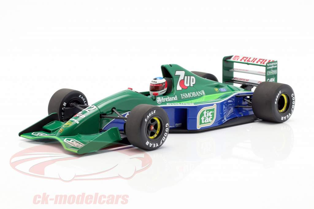 M. Schumacher Jordan 191 #32 F1 estréia Bélgica GP Spa 1991 1:18 Minichamps