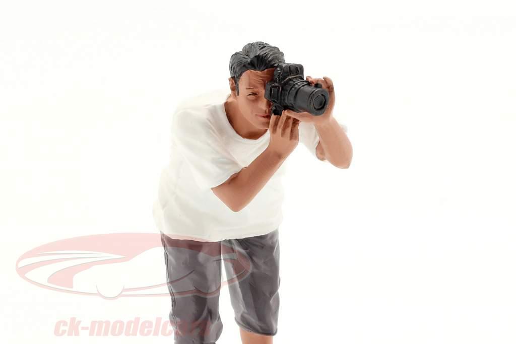 Figur 4 Weekend Car Show 1:18 American Diorama