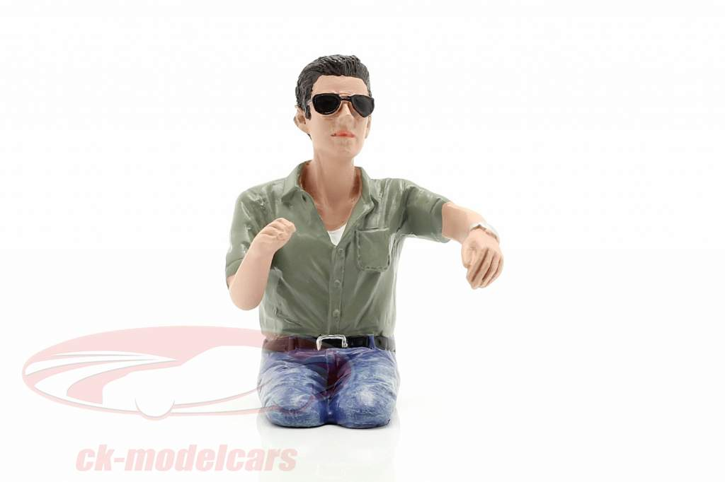 figuur A Seated Couple IV 1:18 American Diorama