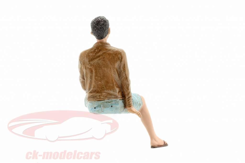 figura A Seated Couple III 1:18 American Diorama