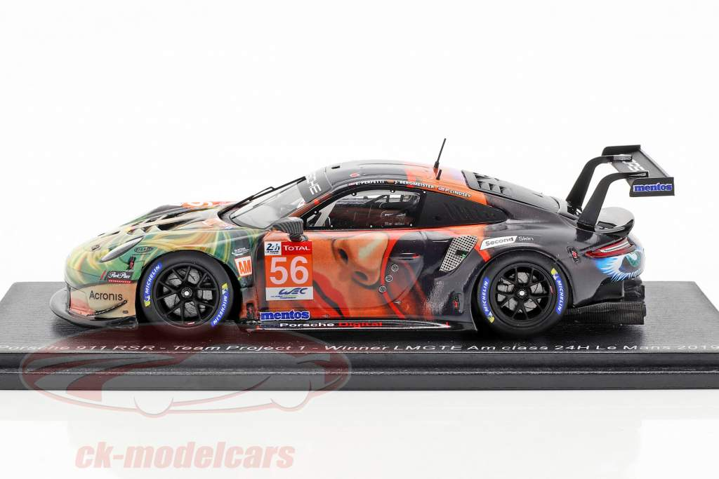 Porsche 911 RSR #56 Vinder LMGTE Am 24h LeMans 2019 Team Project 1 1:43 Spark