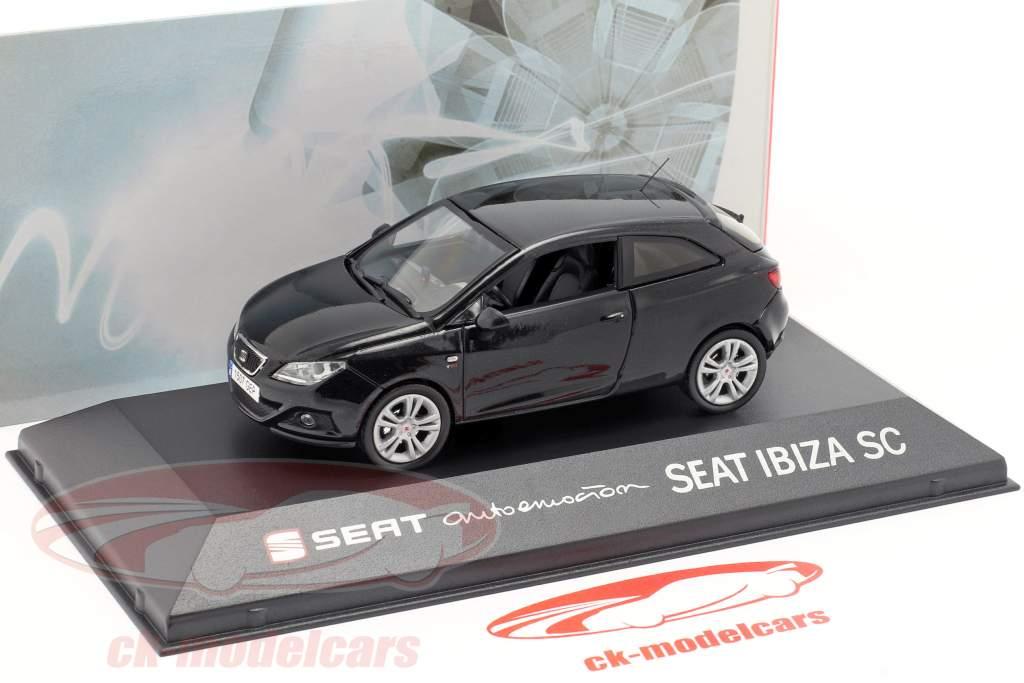 Seat Ibiza SC preto 1:43 Seat