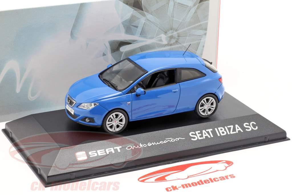 Seat Ibiza SC blå 1:43 Seat