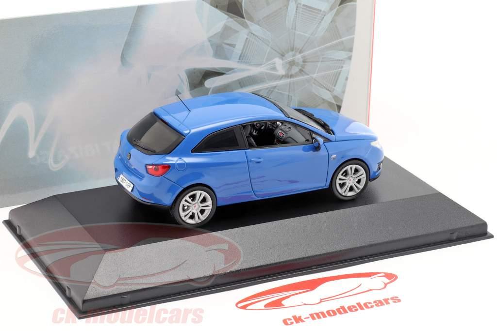 Seat Ibiza SC blauw 1:43 Seat